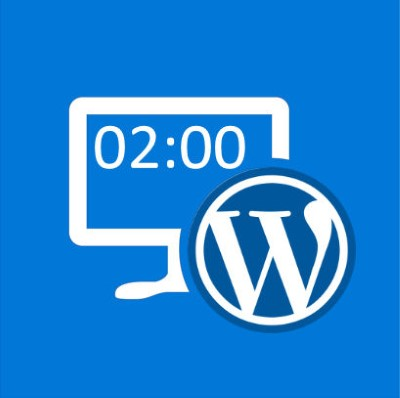 2 heures intervention WordPress